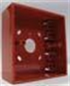 Afbeelding van Surface mounting box red